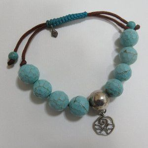 Silpada 925 Sky Blue Best Trend bracelet B2810